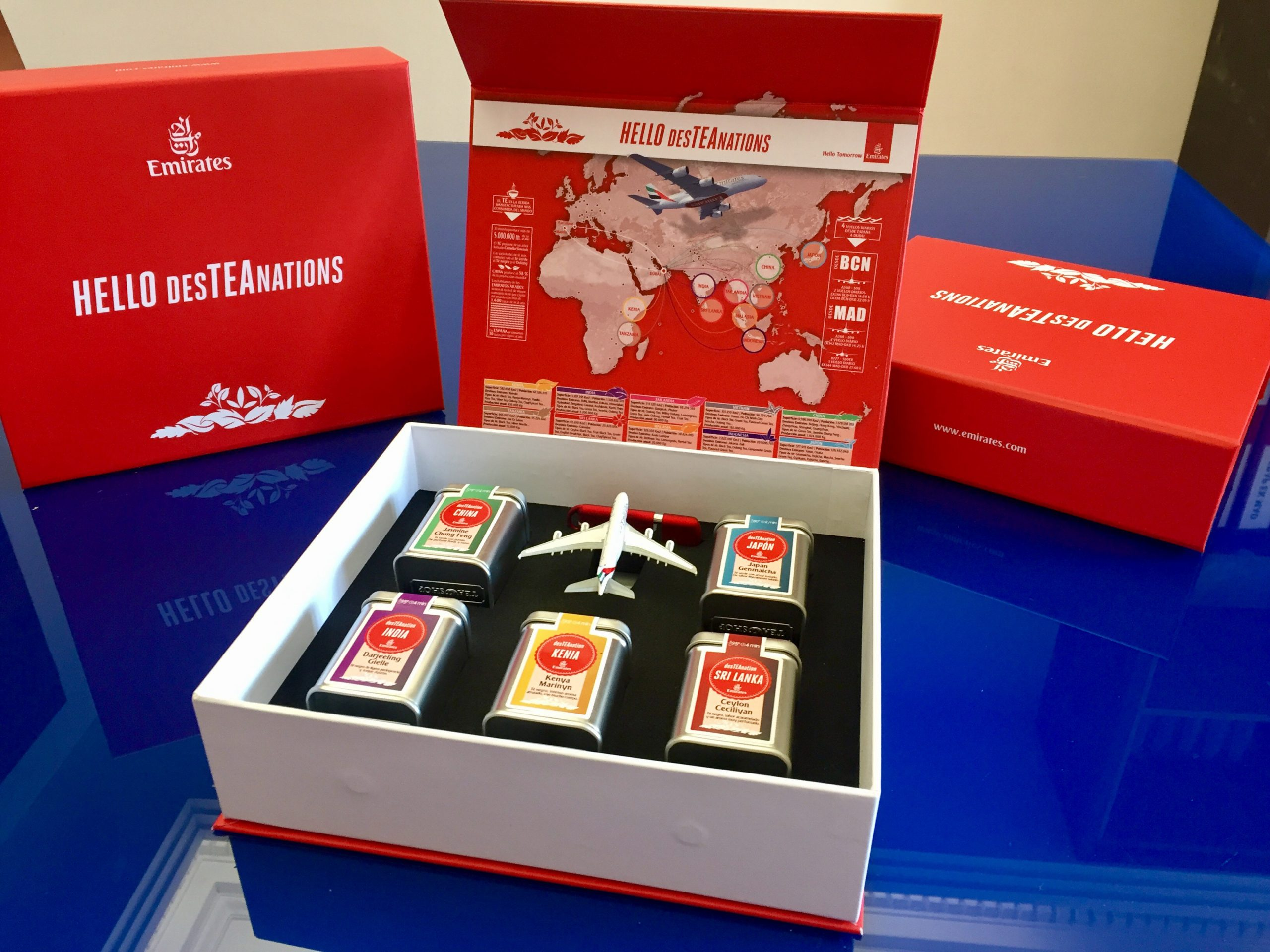 Emirates Desteanation design piece