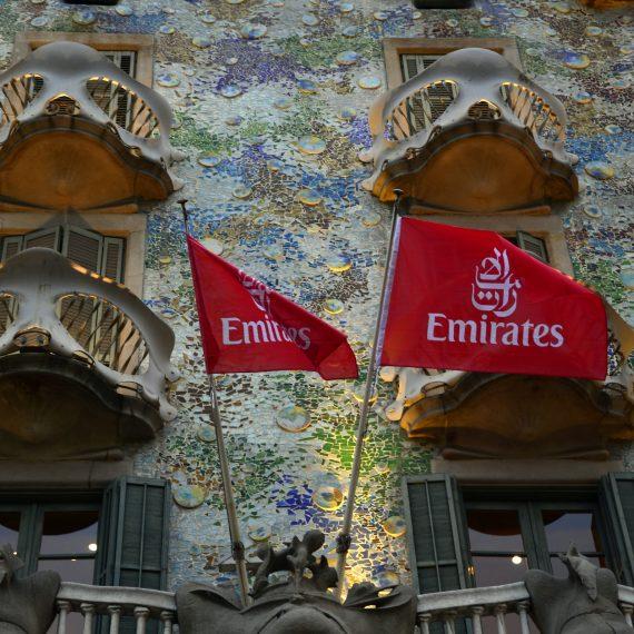 Evento casa batlló Emirates