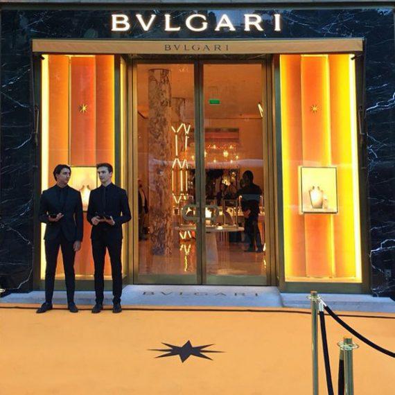 Opening Bulgari Barcelona