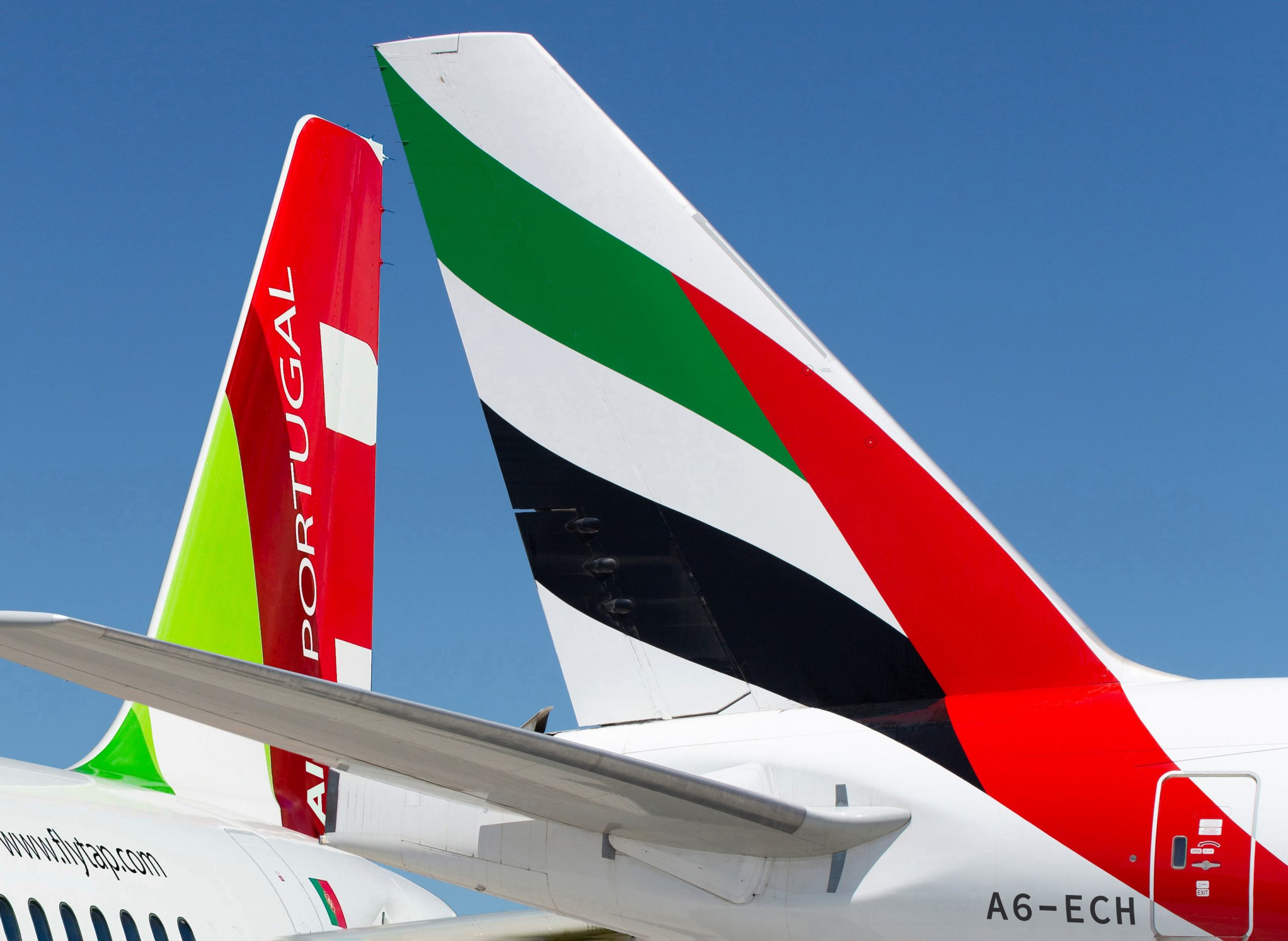 Emirates y TAP Air Portugal