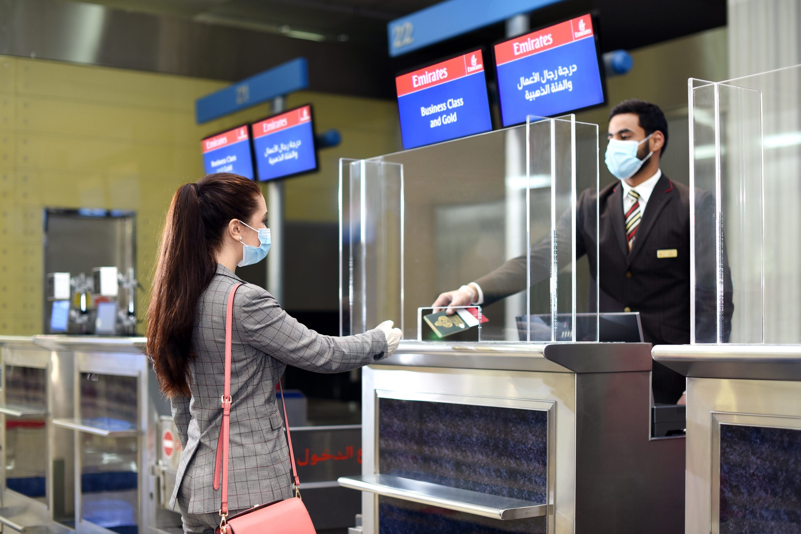 Emirates customers can enjoy paperless document verification right from the start of their journey