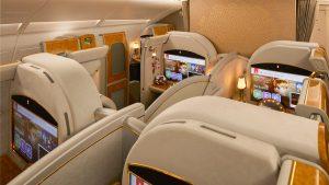 La lujosa First Class de Emirates