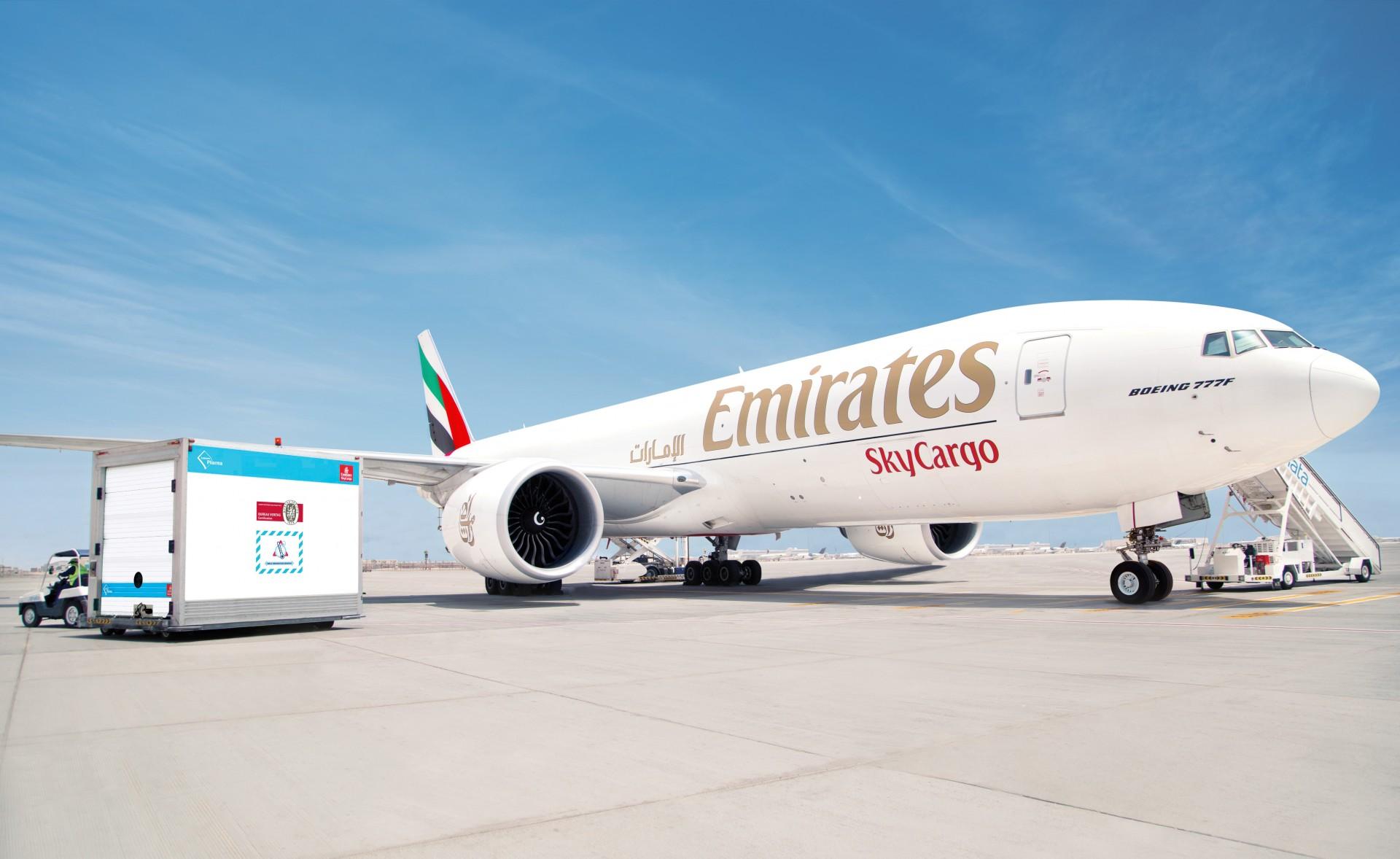 Avión de Emirates SkyCargo