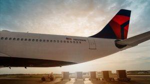 Avión de Delta Air Lines