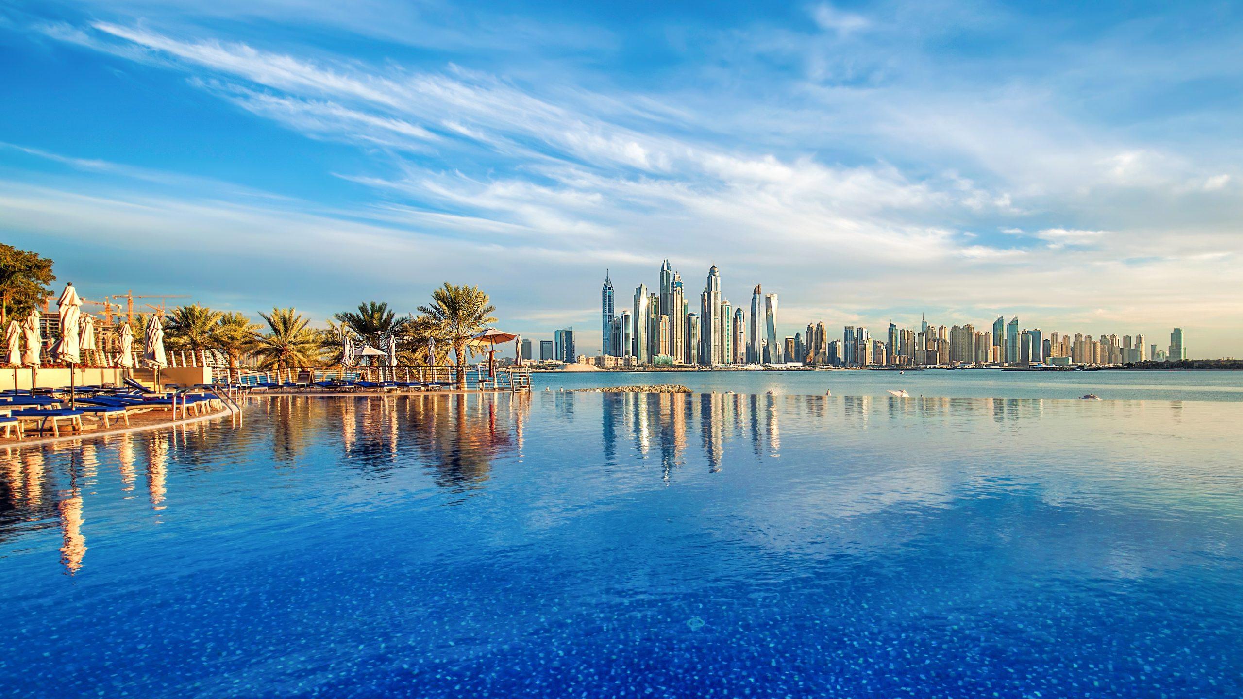 Dubái vista panorámica