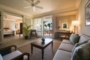 The Residence Mauritius suite renovada