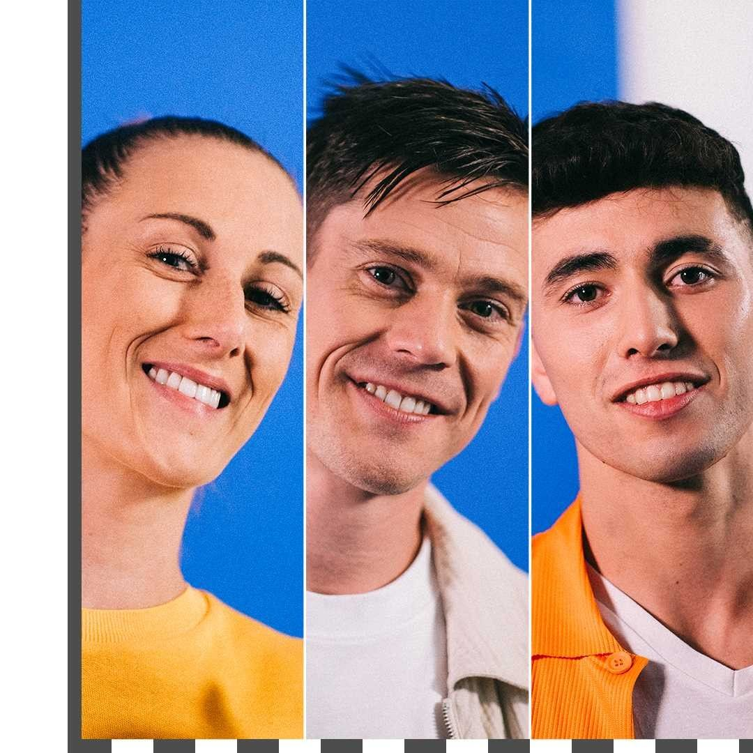 Tres de los mejores jugadores de fútbol de estilo libre del mundo